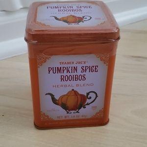 Trader Joe's Pumpkin Spice Rooibos Tea Tin